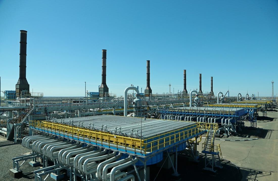 Фото компрессорной станции предприятия мариной