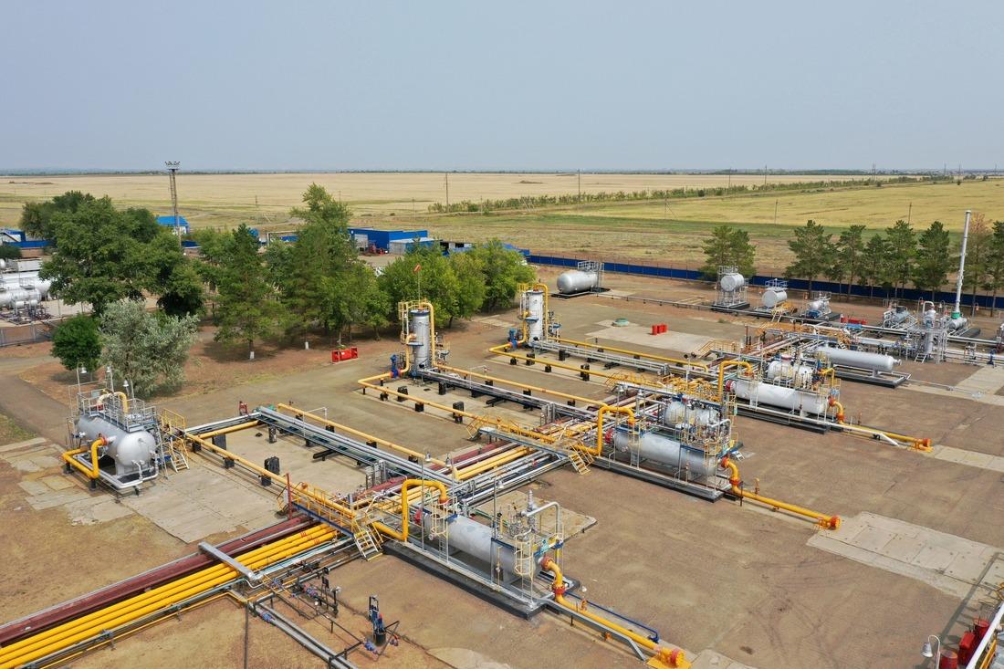 Установка комплексной подготовки газа №9