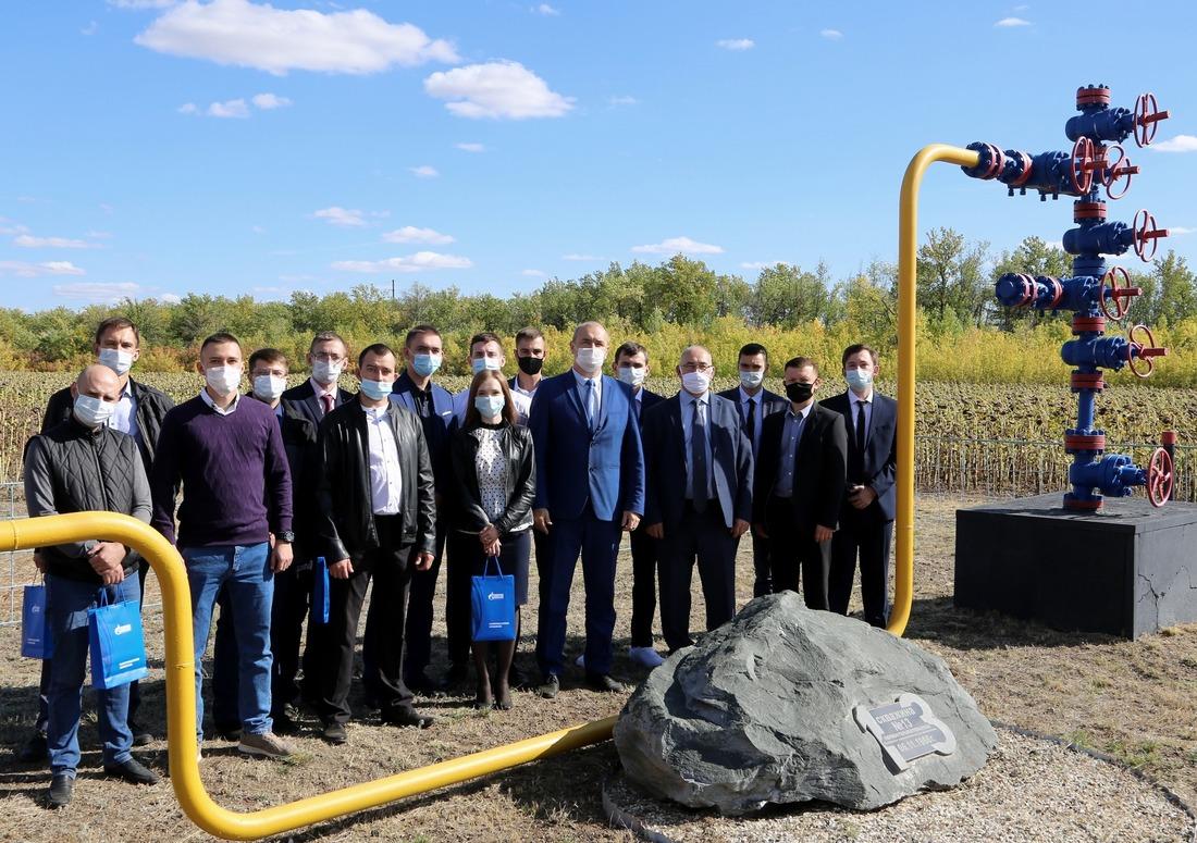Участники конференции наскважине №13— первооткрывательнице Оренбургского НГКМ
