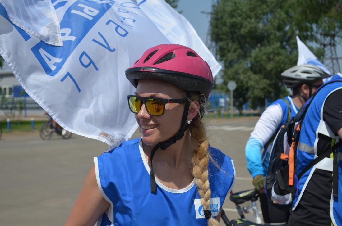 Всеучастники велопробега успешно добрались дофиниша