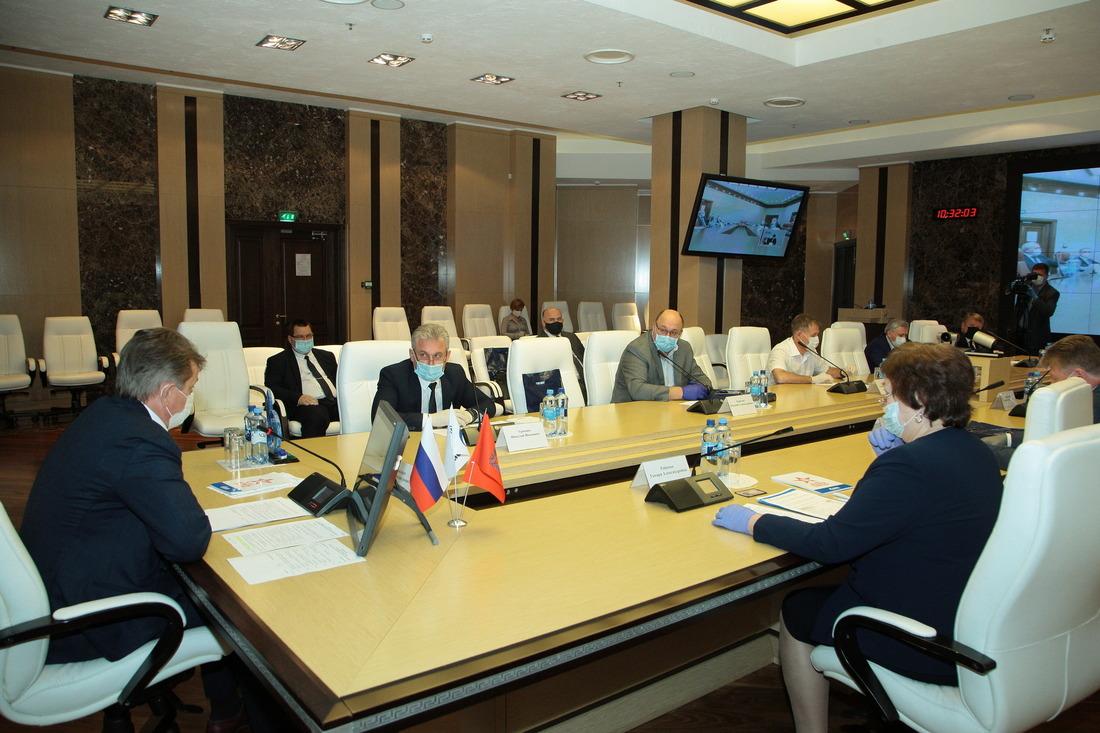 """Заседание участников некоммерческого партнерства """"Газпром вОренбуржье"""""""