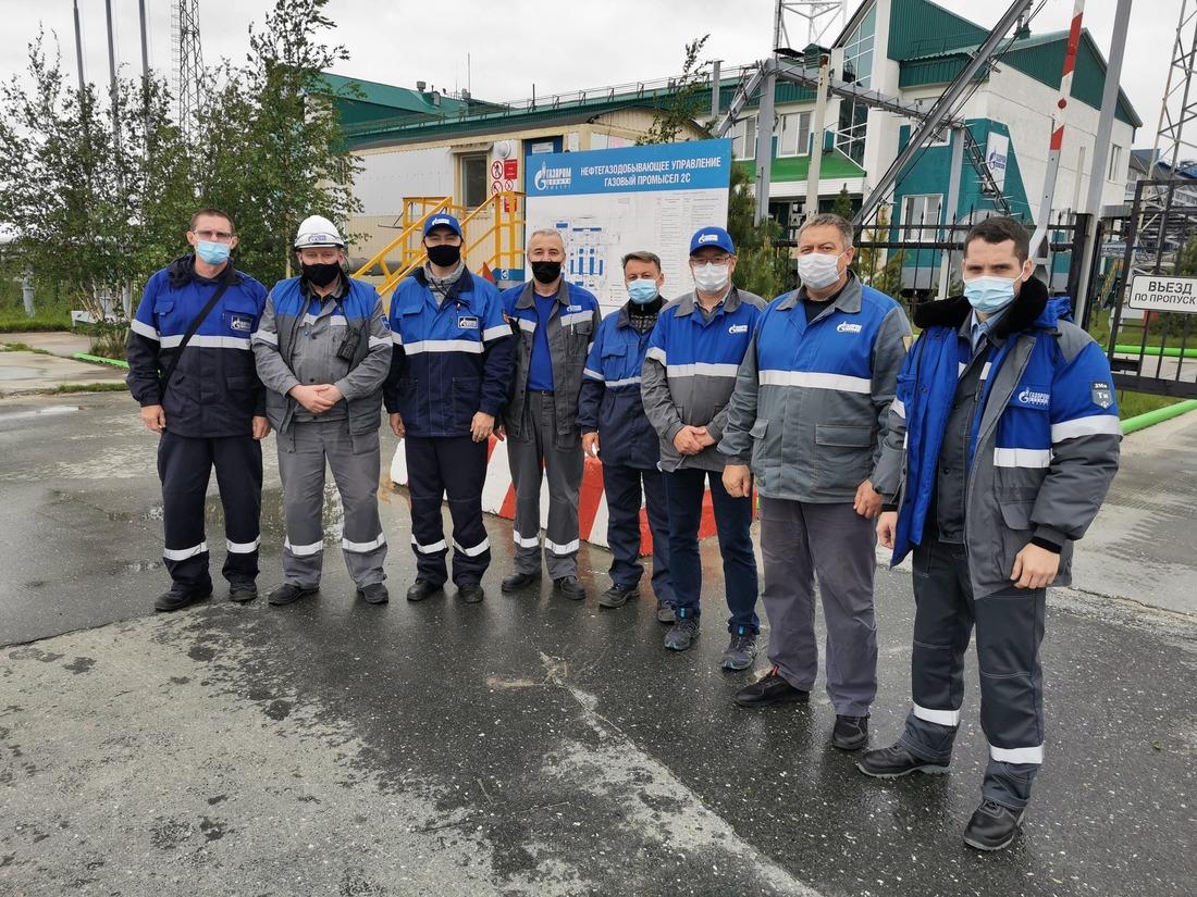 """Группа ООО""""Газпром добыча Оренбург"""" посетила объекты заполярного нефтегазодобывающего промысла"""