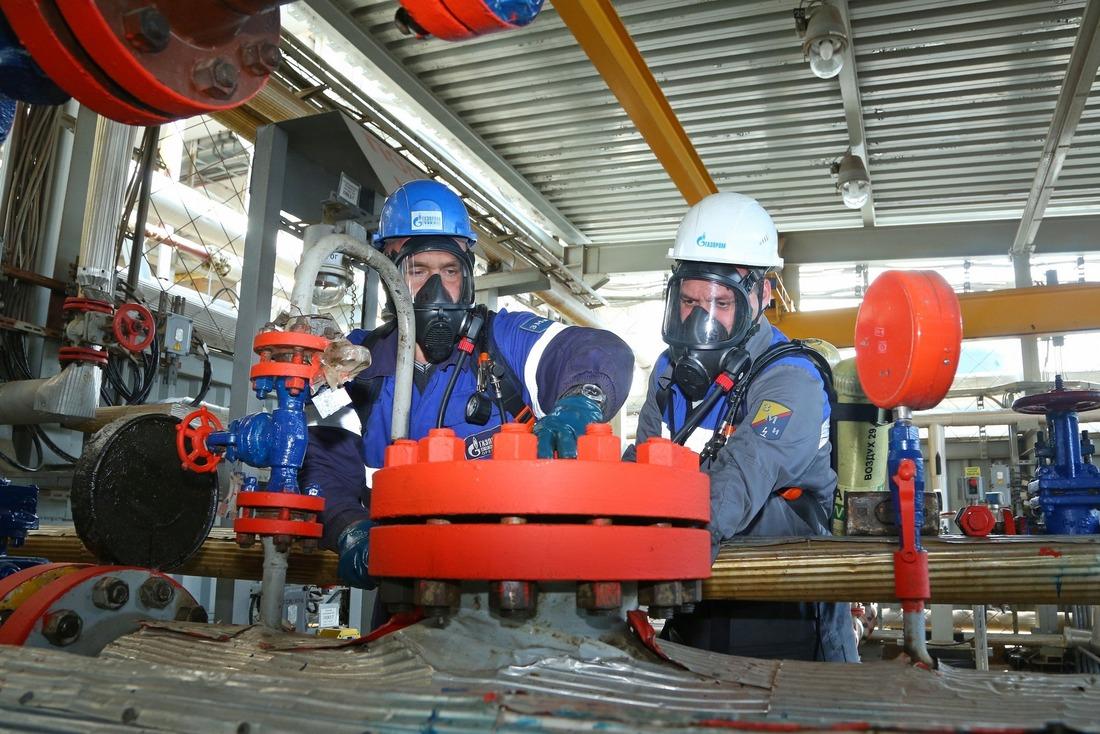 Респираторщики Дедуровского военизированного отряда выполняют газоопасные работы
